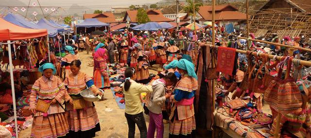 Bac Ha market in Lao Cai