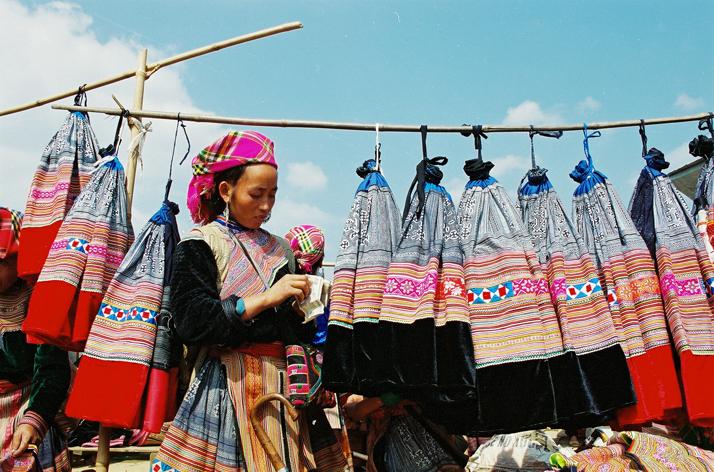 Shopping in Sapa
