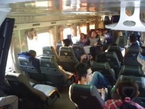 Soft Seats Vietnam Trains