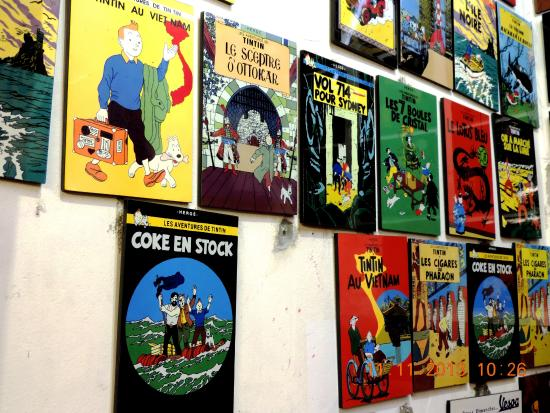 Tintin Lacquerware for sale in Hanoi