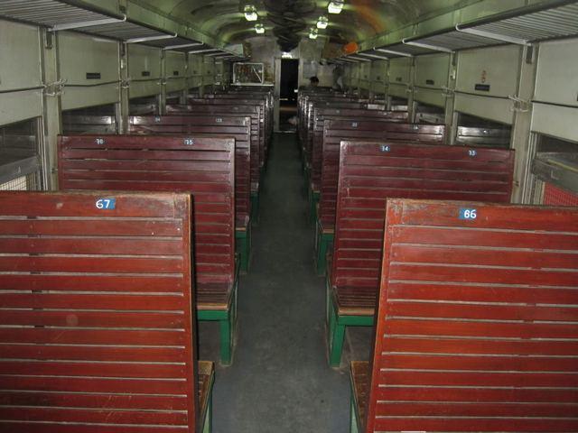 Vietnam Train Hard-seat