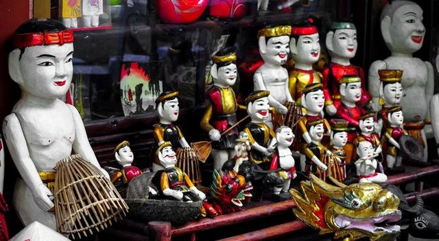 Vietnam Wooden Puppet a great souvenir