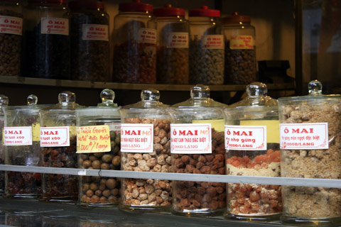 Vietnam famous dried fruits - O Mai