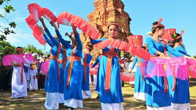 Cham people in Ninh Thuan province celebrate Kate festival