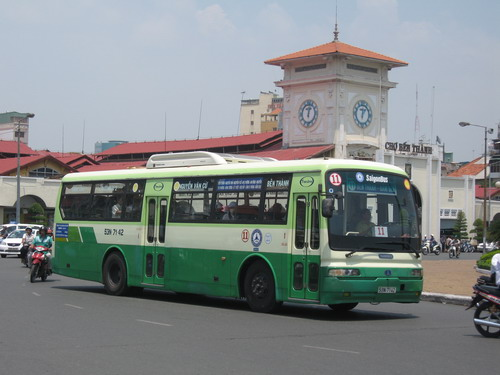 About traveling by bus in Ho Chi Minh City