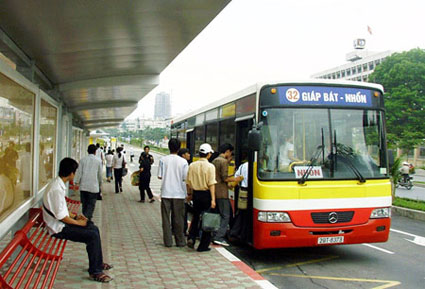 Bus in Hanoi