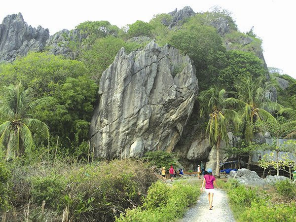 Mo So Mountain in the Mekong Delta province of Kien Giang