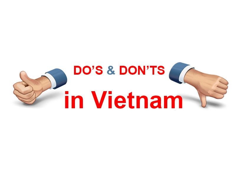 Vietnam Dos and Don'ts