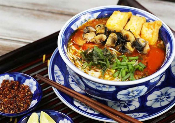 Bun Oc -Hanoian homespun dish